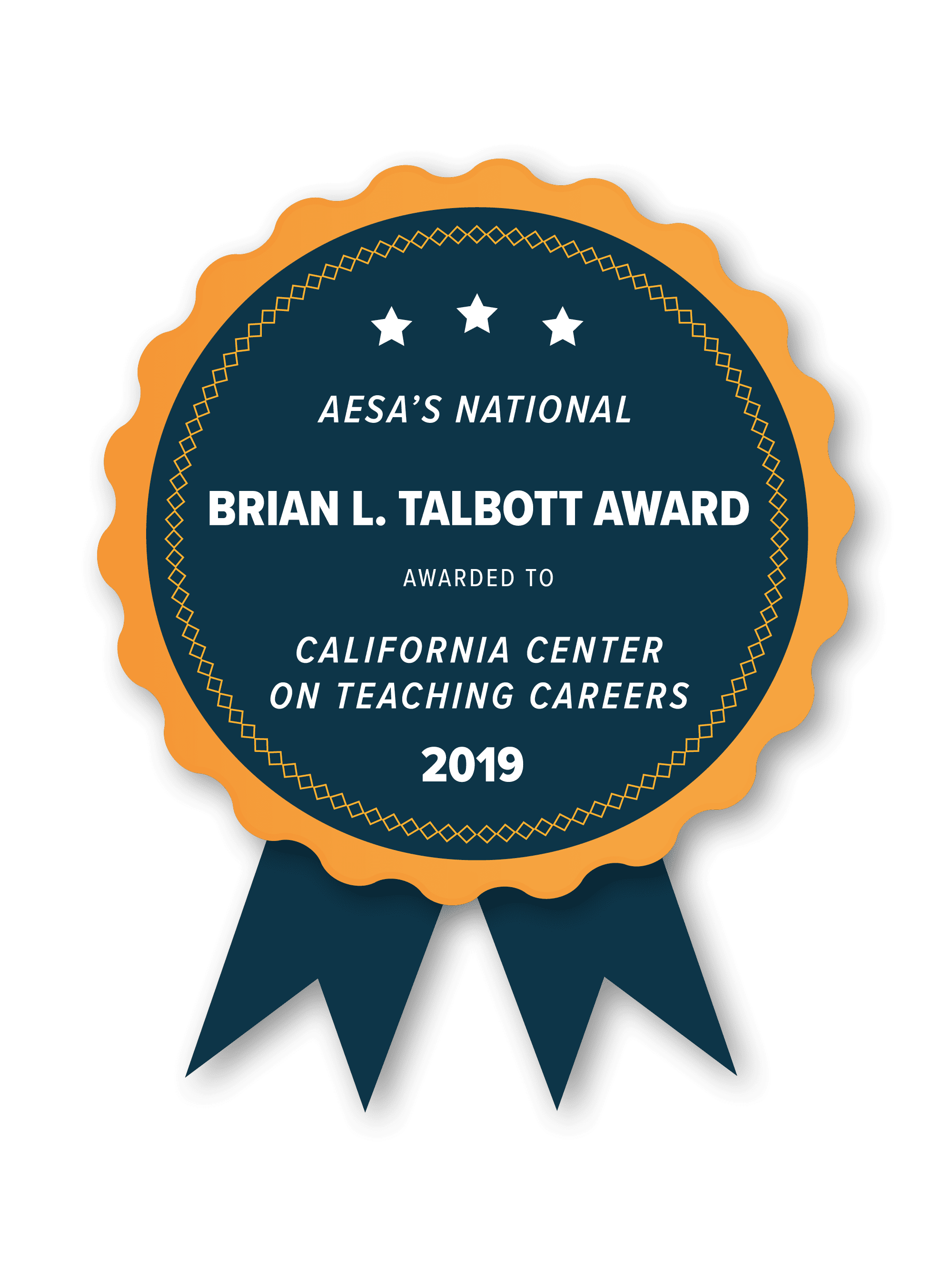 Brian L. Talbott Award from the Association of Educational Service Agencies